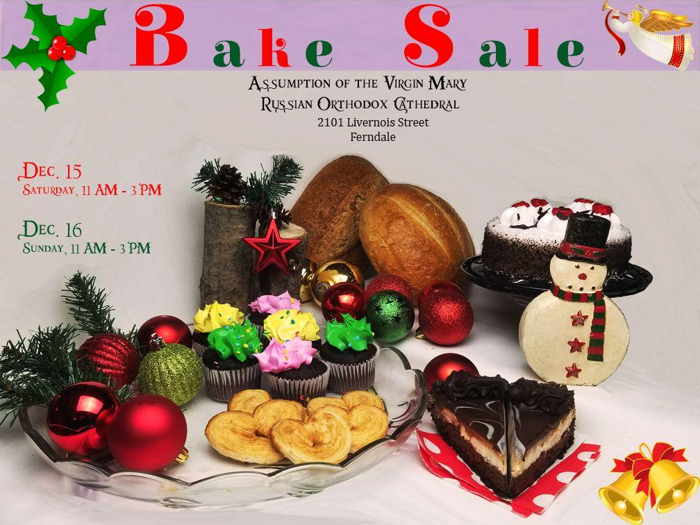 Bake Sale Ferndale MI